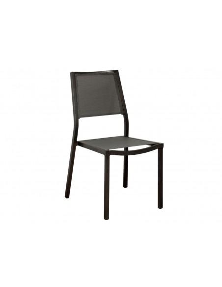 Chaise de jardin Florence finition brush - Proloisirs