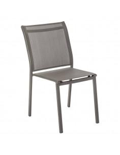Chaise empilable Essentia Tonka et Wengé - Hespéride
