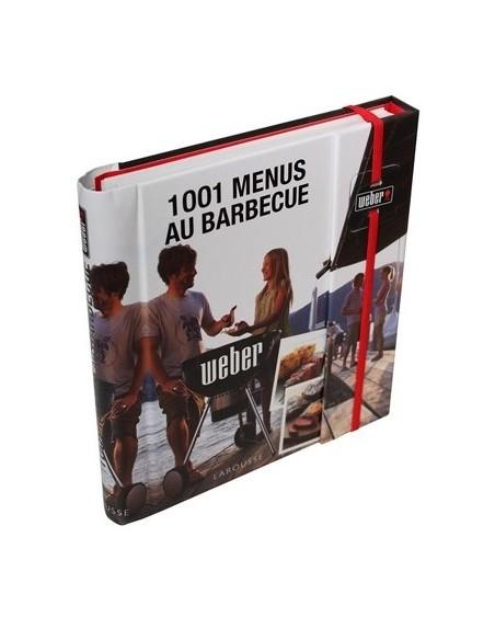 Livre de recettes 1001 menus au barbecue - Weber