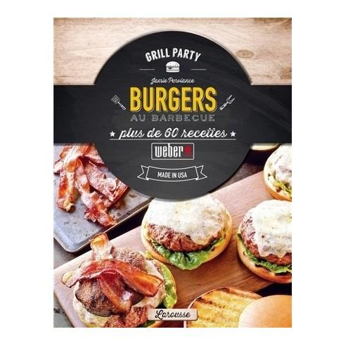 """Livre de recettes """"Burgers au barbecue"""" - Weber"""