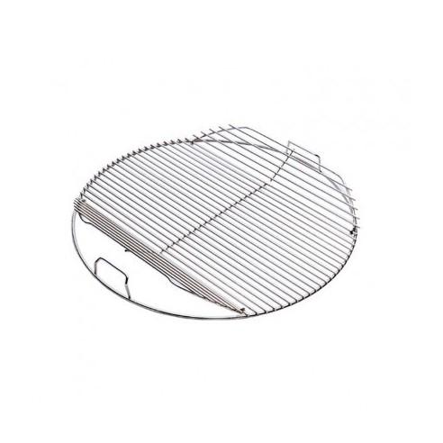 Grille de cuisson chrom e articul e pour barbecue diam tre 47cm weber - Grille de cuisson pour barbecue ...