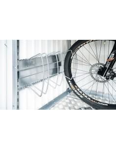 Range vélos BIKEHOLDER pour abri de jardin BIOHORT