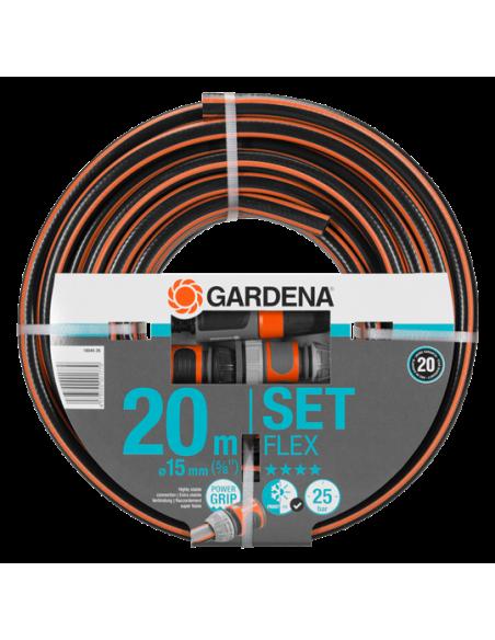 Batterie tuyau Comfort flex 20 M diamètre 15 mm - Gardena