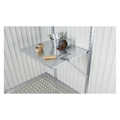 Table pliante pour abri de jardin/garage BIOHORT