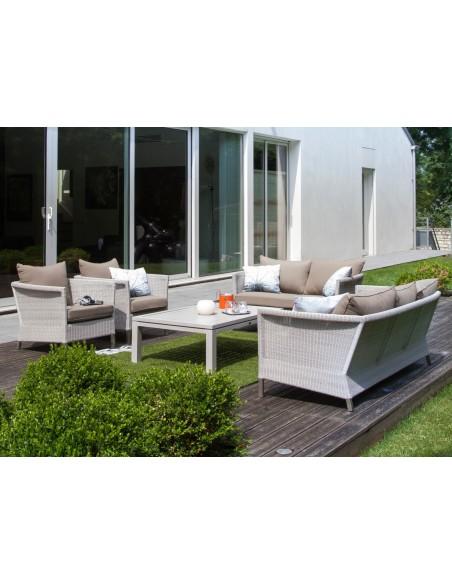 Canapé sofa 3 places Thyme Ice - Océo