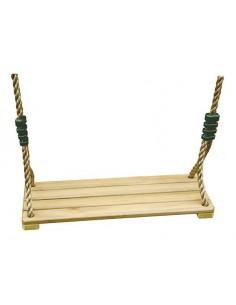 Balançoire bois réglable au choix pour portique de jeux H1.9/2.5 ou H3/3.5 m
