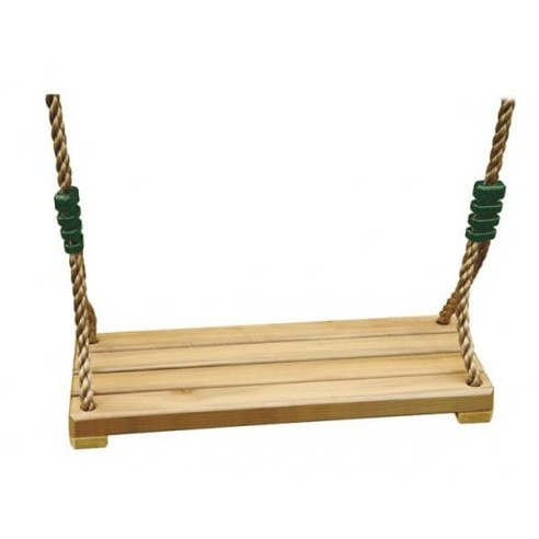 Balançoire bois luxe réglable grande assise pour grand portique H3/3.5 m