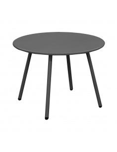 Table Basse Rio 50 - Acier Cataphorese - Graphite - Proloisirs