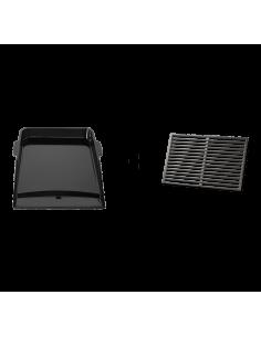 Kit plancha + grille pour Genesis II - 3 brûleurs - Weber