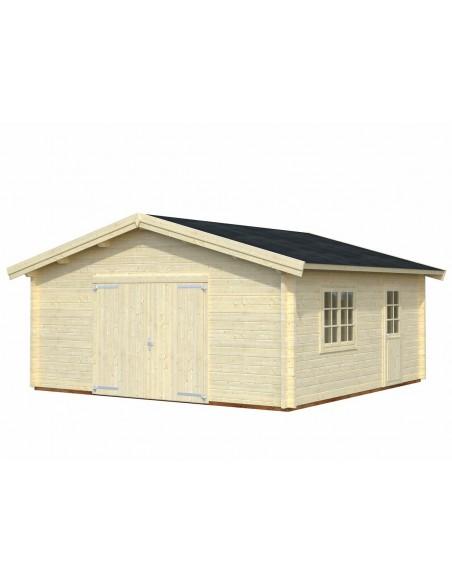 Garage Roger 29.2 m² au choix en bois massif  44 mm