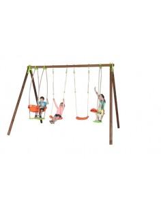 Portique BONGO bois et métal 2.3 m - Enfants 5/12 ans