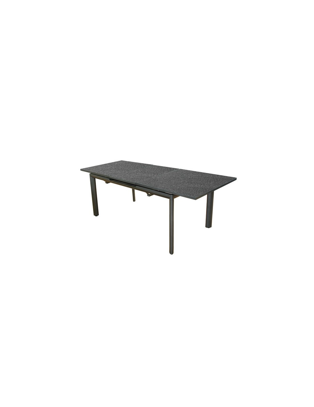 table de jardin floride grey 168 223 plateau verre proloisirs. Black Bedroom Furniture Sets. Home Design Ideas