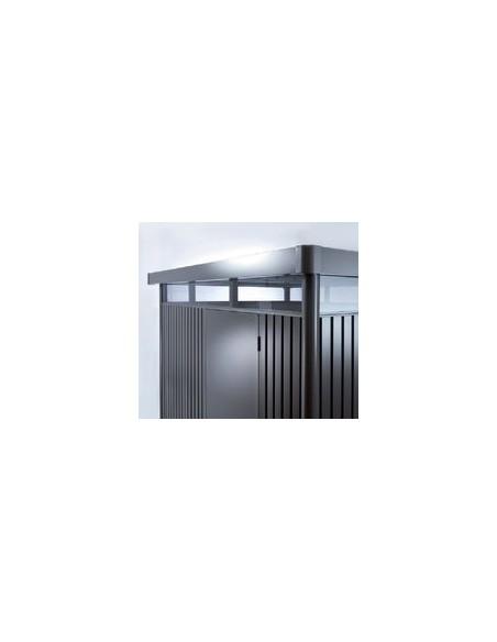 Abri de jardin Highline BIOHORT double-portes de 4.3 à 8.7 m²