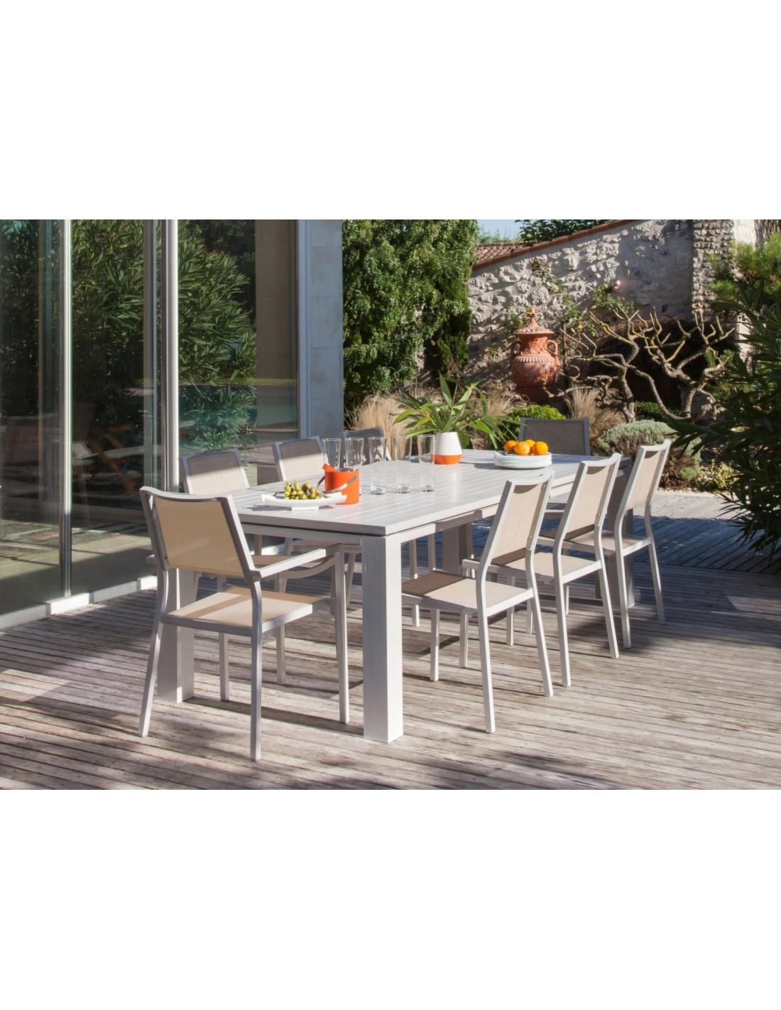 Table de jardin Fiero rectangle 240 x 103 cm - Proloisirs