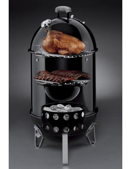 Fumoir Smokey Mountain Cooker 57 cm noir - Weber