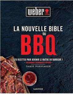 Livre de recettes La nouvelle bible du BBQ Weber