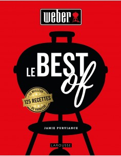 Livre de recettes Le Best of Weber