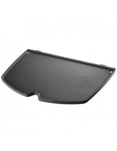 Plancha en fonte d'acier pour barbecue Weber série Q 2000