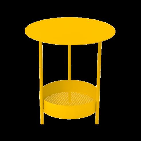 Guéridon Salsa Miel diamètre 50cm Collection Fermob