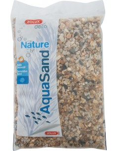 Sable naturel pour aquarium Aquasand quartz jaune 12kg