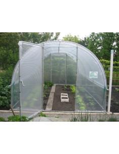 Serre jardinière de 12 m² en PVC armé 300 microns