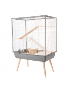 Cage pour rongeurs Neo cosy grise - Zolux