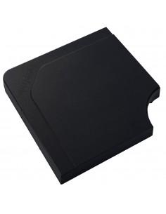 Dalle de parasol Stacio 25kg - Béton noir