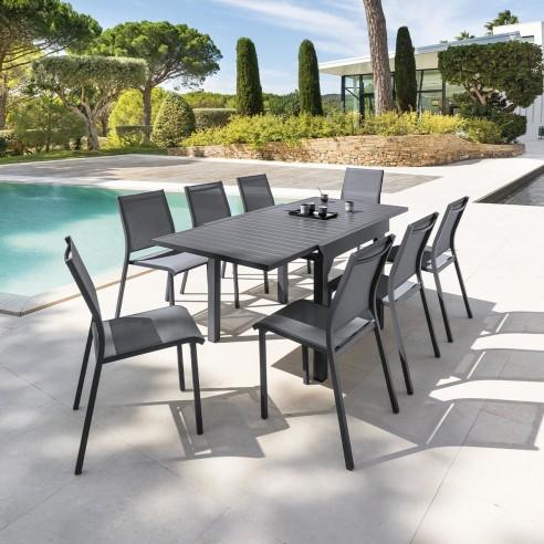 Table de jardin Piazza extensible 8...
