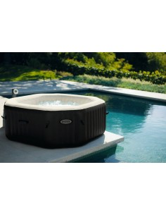 Spa gonflable Octogonal 4 personnes - 201 X 71 cm - Intex