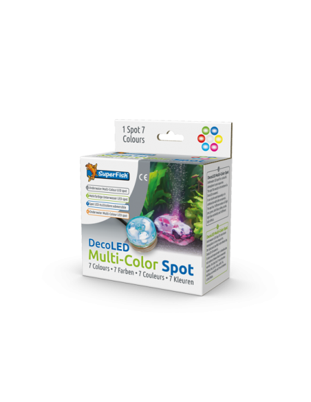 Spot led multicolor pour aquarium - Aquadistri