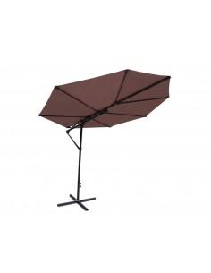 Parasol déporté feuille Sun...