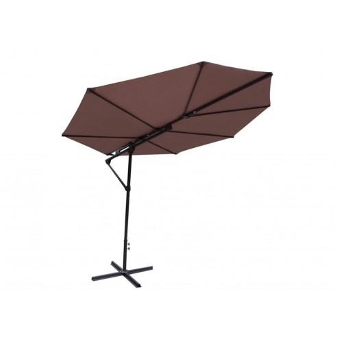 Parasol déporté feuille Sun -...