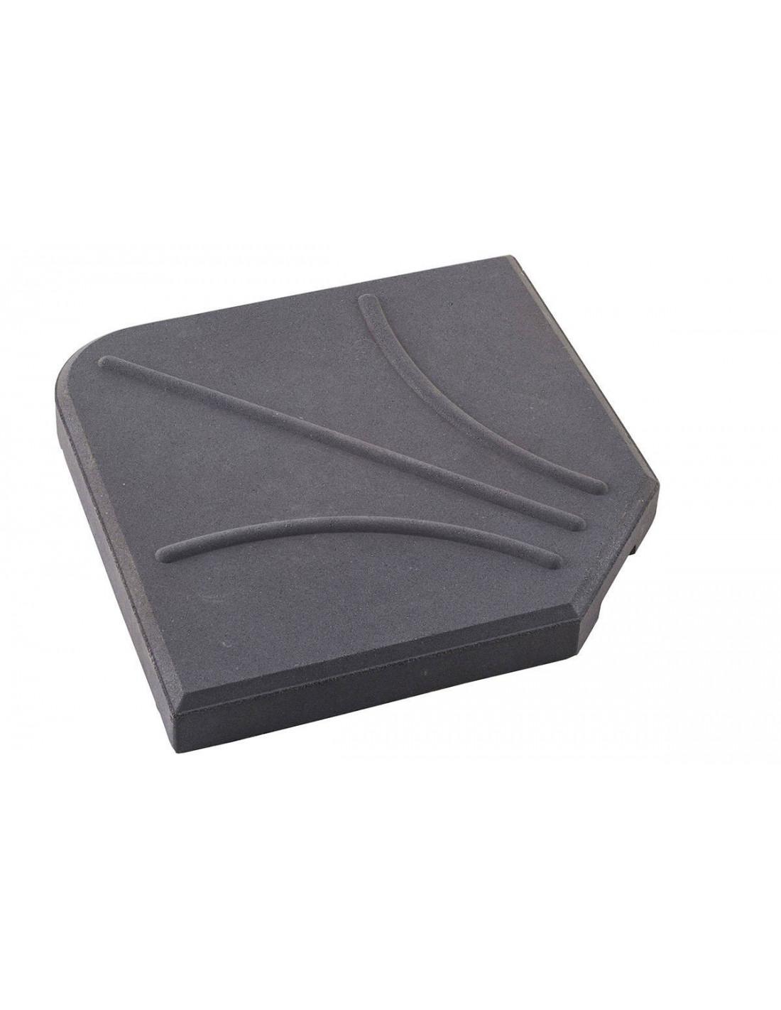 dalle de parasol d port 25 kg b ton x x h 5. Black Bedroom Furniture Sets. Home Design Ideas