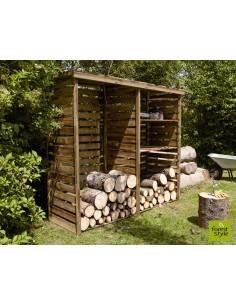 Abri bois Cheyenne - Capacité 3.3 stères