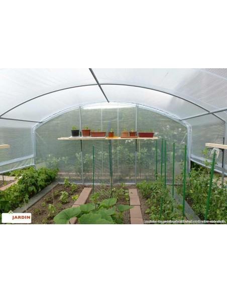 Serre 4 saisons bords droits au choix de 9 à 36 m²