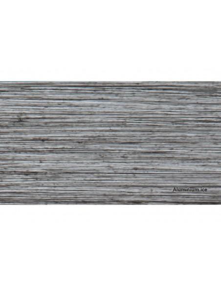 Fauteuil Sofa Latino - Aluminium brush ice et coussin polyester - Proloisirs