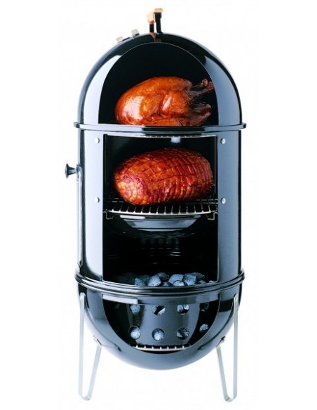 Fumoir Smokey Mountain cooker Ø 37 cm noir émaillé - Weber