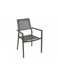 Fauteuil Florence finition brush brun - Proloisirs