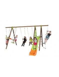 Portique OCTAVO bois et métal 2.3 m - Enfants 5/12 ans