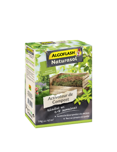 Activateur de compost à base de guano 3 kg - ALGOFLASH