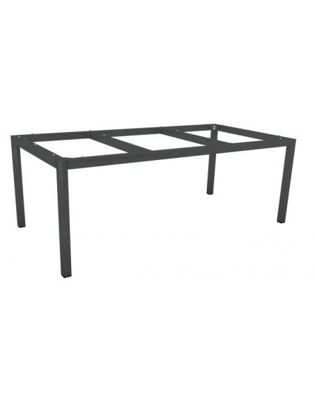 Structure de table 200 x 100 cm Aluminium Anthracite - Stern