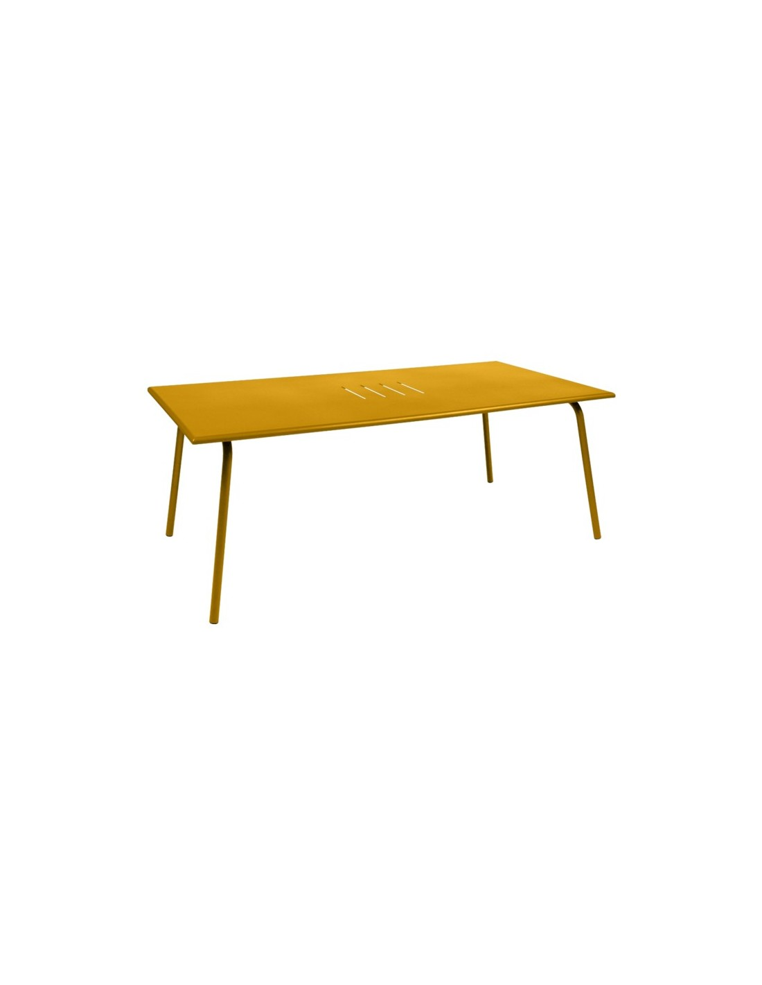 Table de jardin monceau 194x94 cm fermob for Table pour 8 personnes