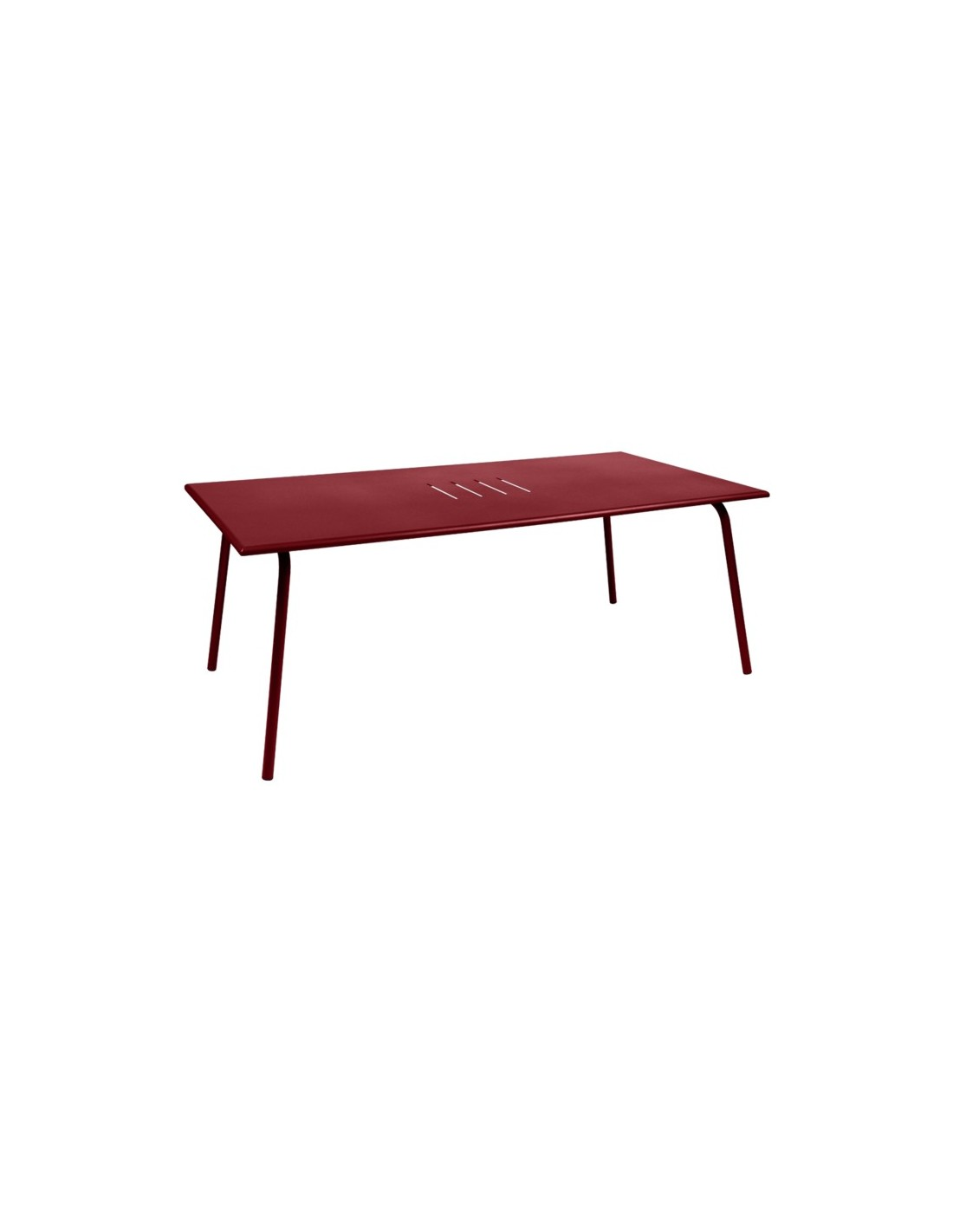 Table de jardin monceau 194x94 cm fermob for Table de jardin 8 personnes