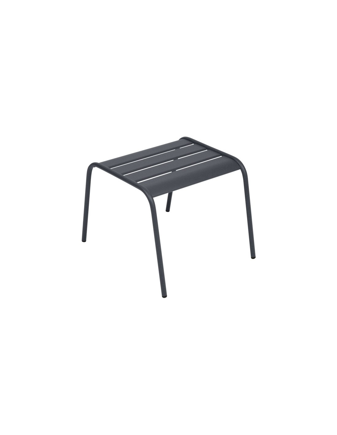 table basse repose pieds monceau m tal empilable fermob. Black Bedroom Furniture Sets. Home Design Ideas