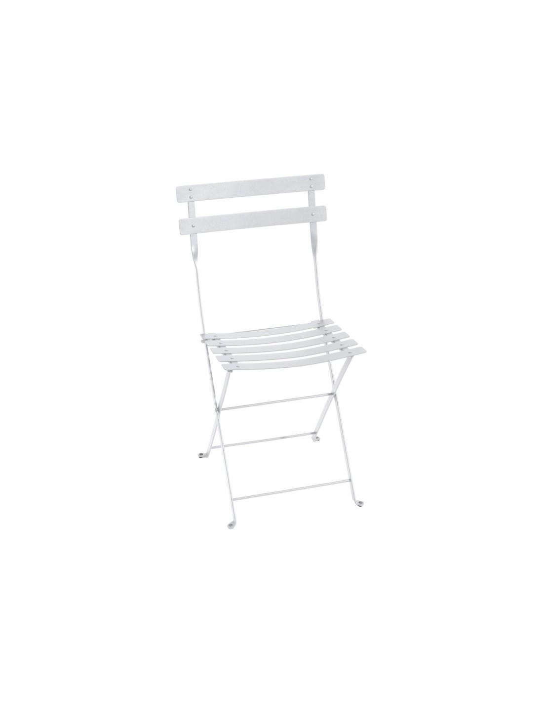 Chaise de jardin pliante bistro m tal coloris au choix fermob - Chaise de jardin fermob ...