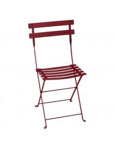 Chaise de jardin pliante Bistro métal collection Fermob