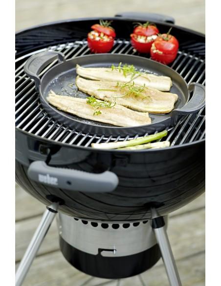 Plancha fonte d'acier pour gourmet BBQ system - Weber