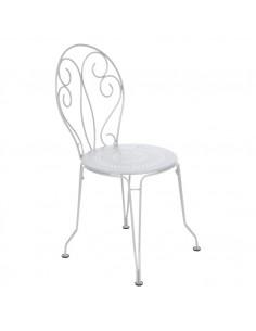 Chaise de jardin Montmartre Blanche Collection Fermob