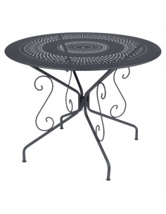 Table métal Montmartre ronde Ø96cm collection Fermob