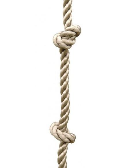Corde à noeuds au choix pour portique H1.90/2.50 ou 3/3.5 m